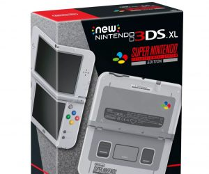 Nintendo 3DS XL SNES Edition
