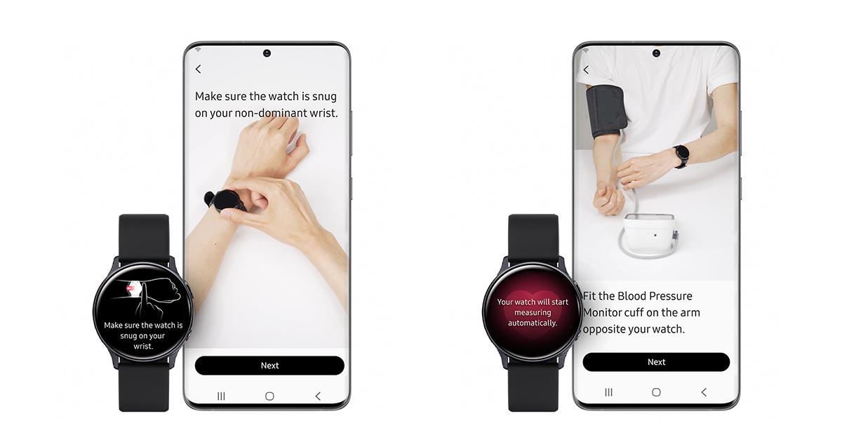 Samsung Galaxy Watch3 ECG BP 01