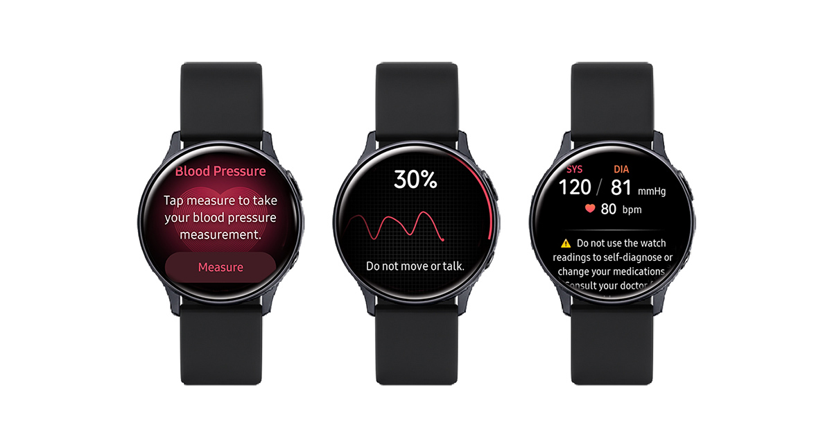 Samsung Galaxy Watch3 Watch Active2 ECG BP 02