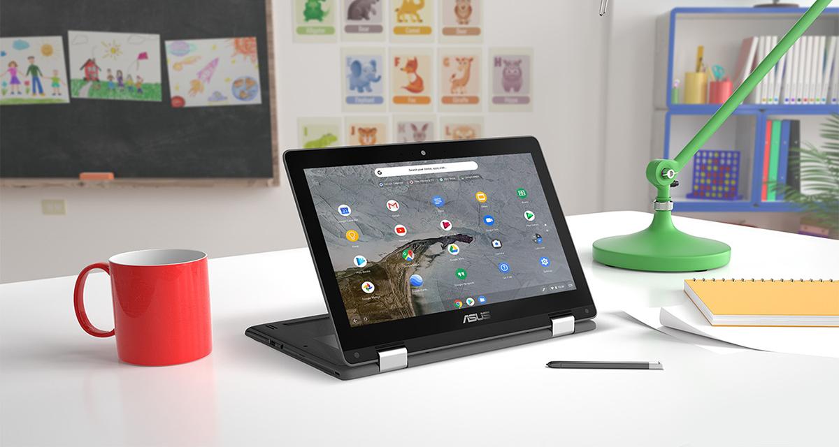 ASUS Chromebook Flip C214 Digital Access 01